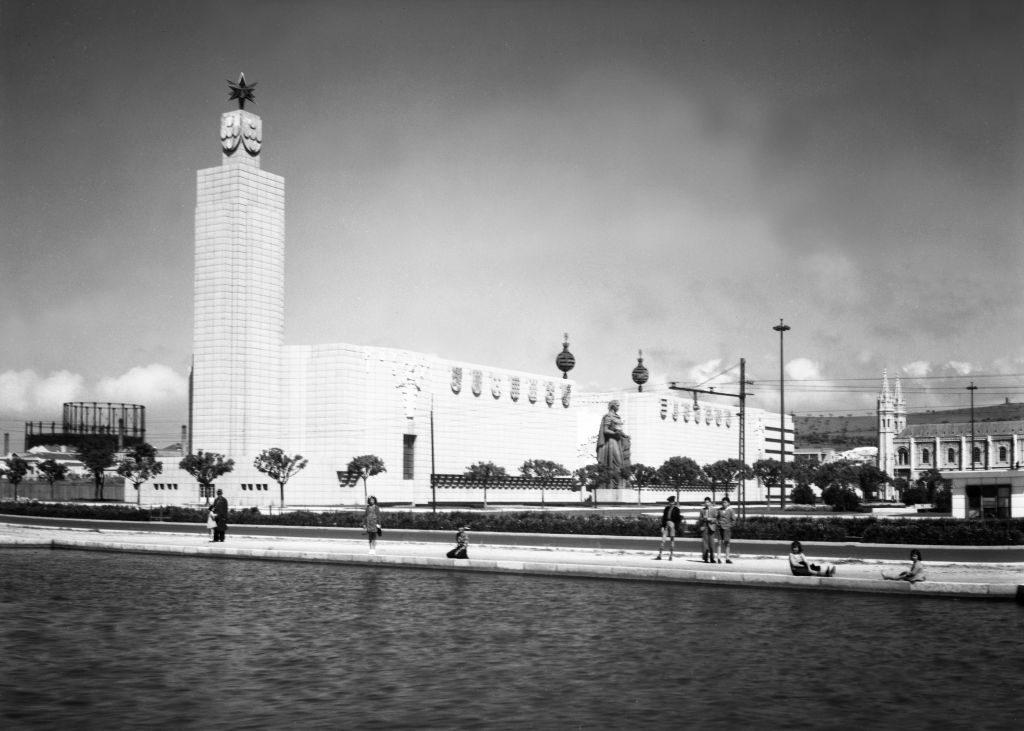 Photograph of the Exhibition Mundo Português, em 1940. The pavilion of the Portuguese in the world