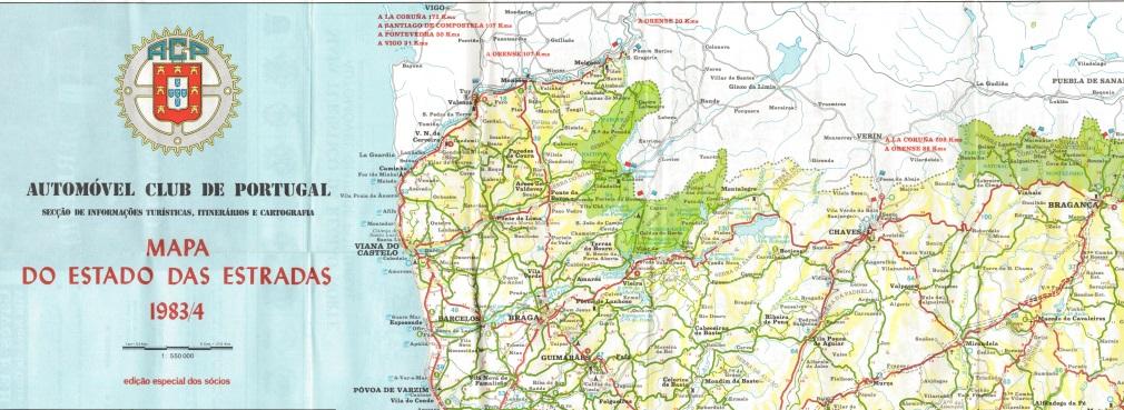 1983_Mapa das Estradas ACP